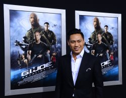 "Jon M.Chu attends the ""G.I Joe: Retaliation"" premiere in Los Angeles"