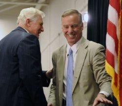 Rep. Moran and Howard Dean host town hall on healthcare in Reston, Virginia