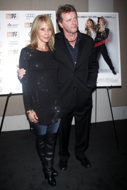 "Rosanna Arquette and Aidan Quinn arrive for the screening of ""Desperately Seeking Susan"" in New York"