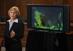 Sen Boxer speaks on the Gulf of Mexico oil spill in Washington