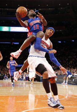 Knicks vs Pistons at Madison Square Garden