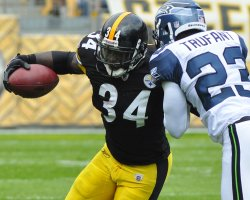 Pittsburgh Steelers Rashard Menedenhall in Pittsburgh