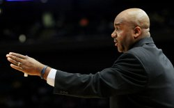 Pittsburgh takes on Georgetown in second-round action at the NCAA Big East Men's Basketball Championships in New York
