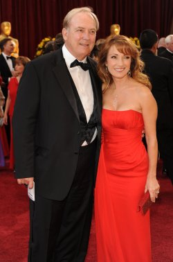 Stacy Keach and Jane Seymour arrive at the Academy Awards in Hollywood