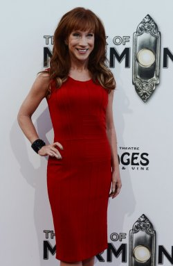 """Kathy Griffin attends """"The Book of Mormon"""" premiere in Los Angeles"""