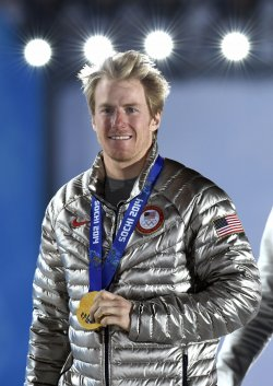 Victory Ceremony at the Sochi 2014 Winter Olympics