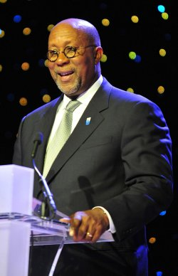Ambassador Ron Kirk at the Honoring Global Leaders for Peace gala in Washington