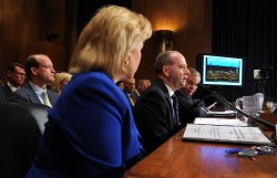 BP's Lamar McKay testifies on the BP oil rig accident in Washington