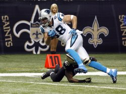 New Orleans Saints vs Carolina Panthers at the Mercedes-Benz Superdome in New Orleans