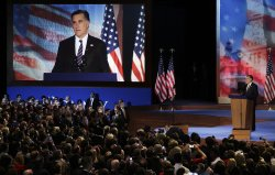 Mitt Romney Election Night Rally in Boston
