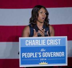Michelle Obama In Florida
