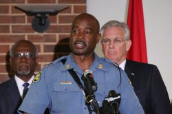 Missouri Governor visits riot torn area of Ferguson, Missouri
