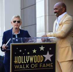 Steve Harvey receives a star on the Hollywood Walk of Fame in Los Angeles