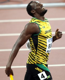 Jamaica wins 4x100 Meters Relay Final at the World Championships in Beijing