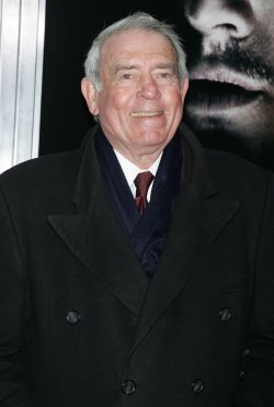 "Dan Rather arrives for the Premiere of ""Shutter Island"" in New York"