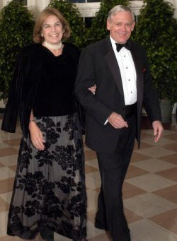 SEC CHAIR DONALDSON AT STATE DINNER