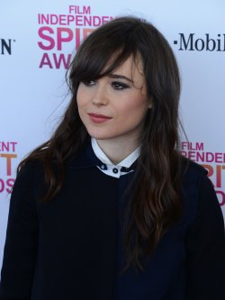 Ellen Page attends the 28th annual Film Independent Spirit Awards in Santa Monica, California