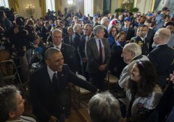 President Obama Honors the Chicago Cubs at the White House