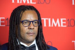 Colson Whitehead arrives at the TIME 100 Gala in New York