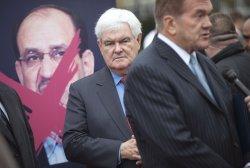 Iranian Supporters Protest Iraqi PM Maliki in Washington, D.C.