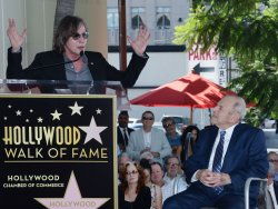Joe Smith honored with star on Hollywood Walk of Fame in Los Angeles