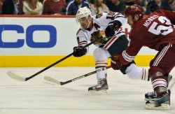 NHL,Coyotes vs Blackhawks in Arizona
