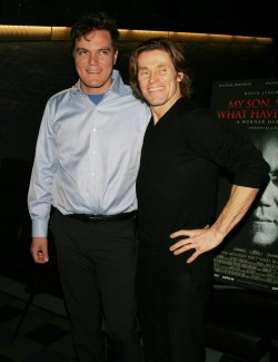 "Michael Shannon and Willem DaFoe arrive for the premiere of ""My Son, My Son What Have Ye Done"" in New York"