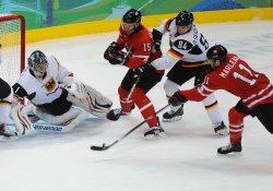 Germany vs. Canada Men's Ice Hockey at 2010 Winter Olympics in Vancouver