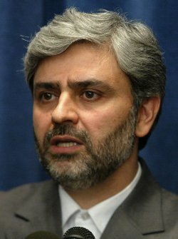 IRAN'S FOREIGN MINISTER SPOKESMAN HOLDS A PRESS CONFERENCE