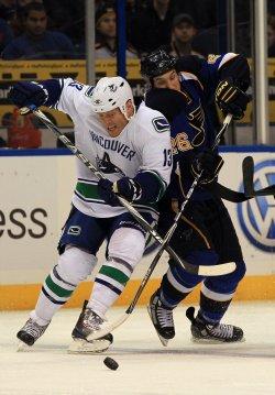 Vancouver Canucks vs St. Louis Blues
