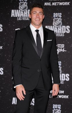 Joffrey Lupul arrives at the 2012 NHL Awards in Las Vegas
