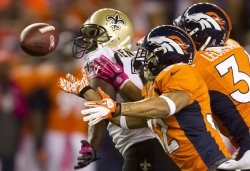 NFL New Orleans Saints vs Denver Broncos in Denver