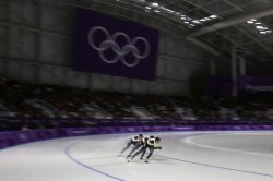 Finals Of Women's 500m Speed Skating At The 2018 Pyeongchang Winter Olympics