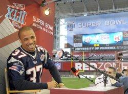 Super Bowl XLII media day in Glendale, Arizona