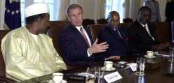 Bush Meets with West African Leaders