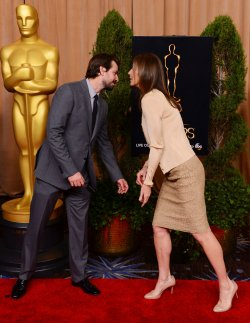 Kathryn Bigelow and Mark Boal attend Oscar nominees luncheon in Beverly Hills