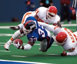 Kansas City Chiefs vs New York Giants at the Meadowlands