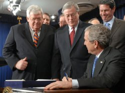 BUSH SIGNS TAX RELIEF AND HEALTH CARE ACT OF 2006
