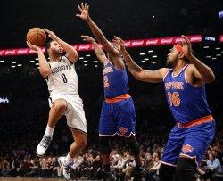 Nets vs Knicks at the Nassau Coliseum