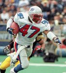New England Patriots Robert Edwards
