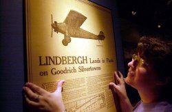 Lindbergh exhibit