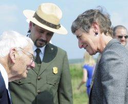 Goundbreaking for Visitor Center at Flight 93 Memorial