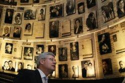 Canadian PM visits Yad Vashem