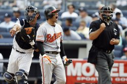 Baltimore Orioles vs New York Yankees at Yankee Stadium in New York