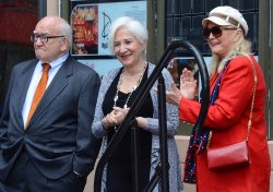 Olympia Dukakis receives a star on the Hollywood Walk of Fame in Los Angeles