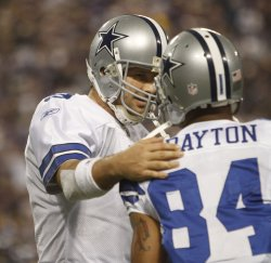 Cowboys' Romo and Crayton talk against Vikings in Minneapolis