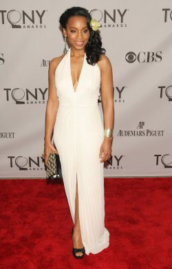 Anika Noni Rose attends the 65th Annual Tony Awards held in New York