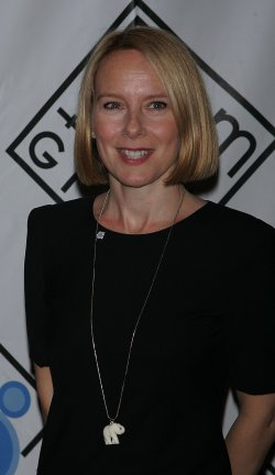 Amy Ryan arrives for the Room to Grow Benefit Gala in New York