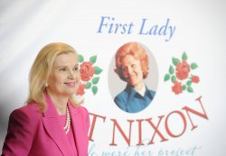 Special exhibit devoted to former First Lady Pat Nixon displayed at the Nixon Presidential Library in Yorba Linda, California