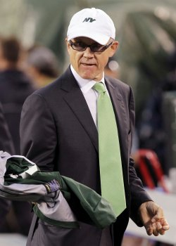 New York Jets owner Woody Johnson at New Meadowlands Stadium in New Jersey